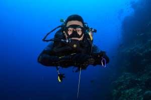 Poseidon Rebreather deep diver course
