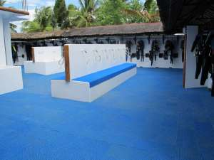 Dive Resort Cebu Set up area