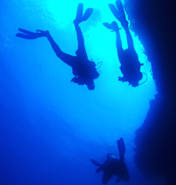 Deep Diving in Moalboal, Cebu, Philippines