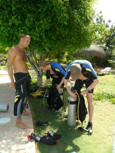 Open Water Diver course in Moalboal, Cebu, Philippines