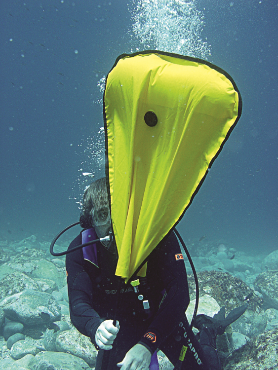 Search and Recovery diver in Moalboal, Cebu, Philippines