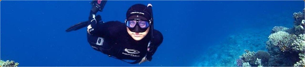 Freediving in Cebu