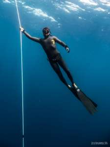 Freediving with Kasai Village dive Academy