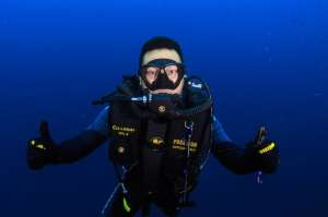 Certified diver rebreather course at Kasai Village