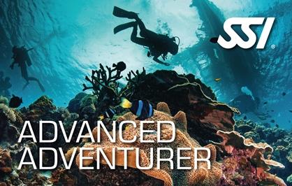 Advanced Adventurer course at Kasai Village Dive Centre